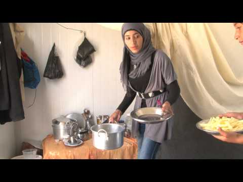 Video A young Syrian girl's life as a refugee download in MP3, 3GP, MP4, WEBM, AVI, FLV January 2017
