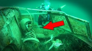 Video 5 Bizarre Things Found Underwater Nobody Can Explain! MP3, 3GP, MP4, WEBM, AVI, FLV November 2018