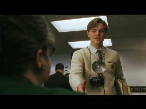 Catch me if you can [2002]  Frank becoming a pilot scene