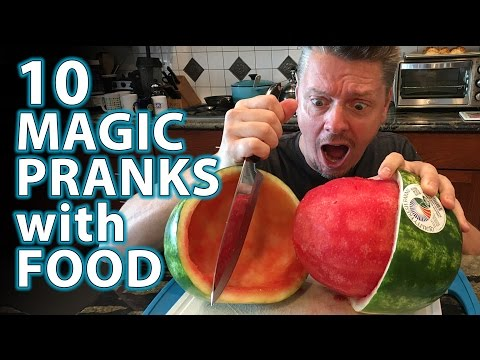 Hilarious Magic Foods Pranks