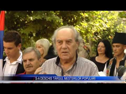 S-A DESCHIS TÂRGUL MEȘTERILOR POPULARI