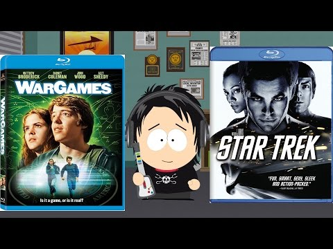 Star Trek '09 & WarGames Blu-Ray Unboxings