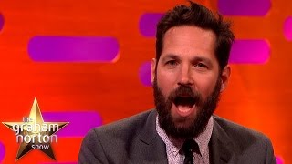 Video Paul Rudd Opens Up About His Embarrassing Fangirl Moment - The Graham Norton Show MP3, 3GP, MP4, WEBM, AVI, FLV Desember 2018