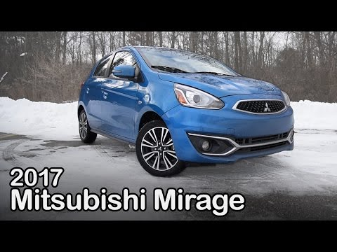 2017 Mitsubishi Mirage Review: Curbed with Craig Cole