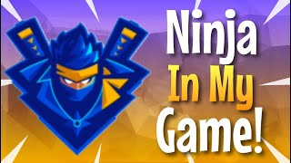Ninja & BasicallyIDoWork IN MY GAME! Summer Skirmish Squads! *NOT CLICKBAIT*