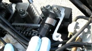 6. 2004-up Suzuki GS500F Valve Check and Adjustment