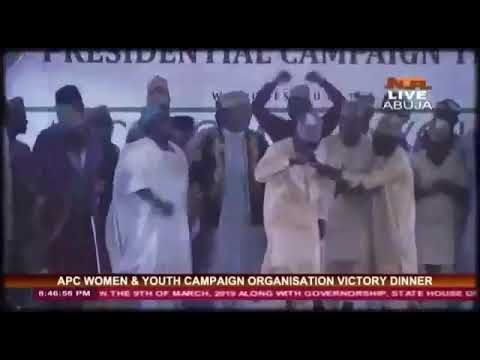 EL MUAZA LIFE PERFORMANCES AND DINNER AT THE SAME TIME IN VILLAH WITH GMB MUHAMMAD BUHARI