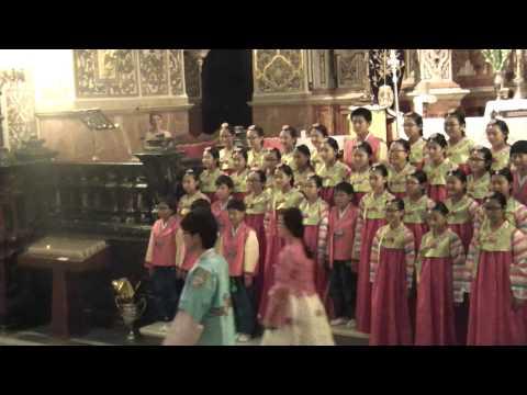 Allluia -G.P.Telemann 제주 가톨릭 소년 소녀 합창단