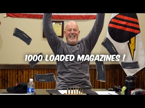 WHY YOU NEED 1000 LOADED MAGAZINES…