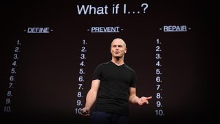"""The hard choices -- what we most fear doing, asking, saying -- are very often exactly what we need to do. How can we overcome self-paralysis and take action? Tim Ferriss encourages us to fully envision and write down our fears in detail, in a simple but powerful exercise he calls """"fear-setting."""" Learn more about how this practice can help you thrive in high-stress environments and separate what you can control from what you cannot.The TED Talks channel features the best talks and performances from the TED Conference, where the world's leading thinkers and doers give the talk of their lives in 18 minutes (or less). Look for talks on Technology, Entertainment and Design -- plus science, business, global issues, the arts and more.Follow TED on Twitter: http://www.twitter.com/TEDTalksLike TED on Facebook: https://www.facebook.com/TEDSubscribe to our channel: https://www.youtube.com/TED"""