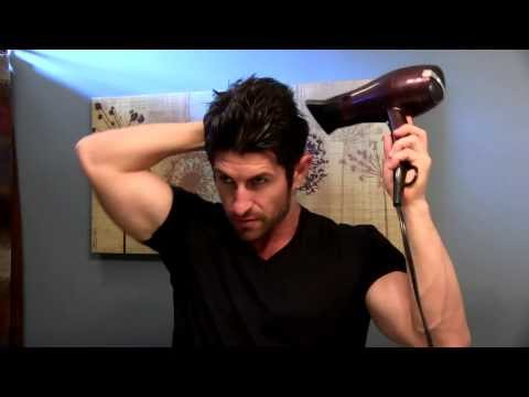 How To Add Volume To Your Hair (Men's Hair Style Tutorial)