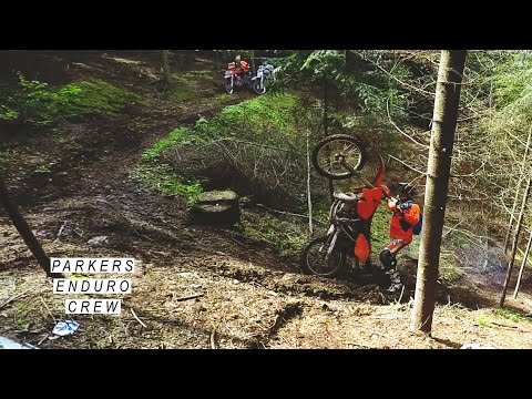 NEW ENDURO FRIENDS - KTM EXC 200, GAS GAS TXT 125, YAMAHA YZ250F, BETA TECHNO 200