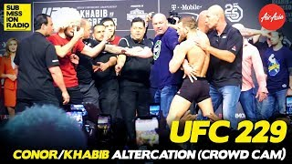 Video UFC 229: Conor McGregor/Khabib Altercation (CROWD CAM) MP3, 3GP, MP4, WEBM, AVI, FLV Oktober 2018