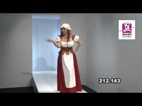 Costume Paysanne Médiévale XL-XXL-v29987