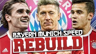 Download Video REBUILDING BAYERN MUNICH vs GardieFIFA (Speed Rebuild) - FIFA 18 Career Mode MP3 3GP MP4