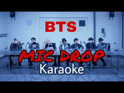 BTS – MIC Drop (Steve Aoki Remix) [KARAOKE + ROMANIZED LYRICS]