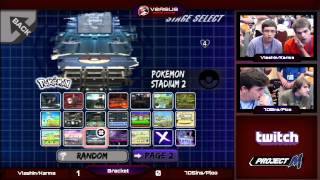 My buddy Vlashen and I got our first taste of the stream (and competitive doubles) at TOX! Would you mind helping us out by critiquing our matches? Thanks!