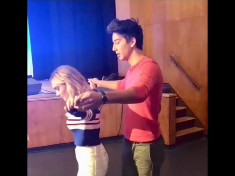 Meg Donnelly and Milo Manheim DANCING on American Housewife