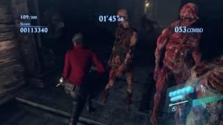 Just some Catacombs Mercenaries No Mercy Gameplay using Ada Wong