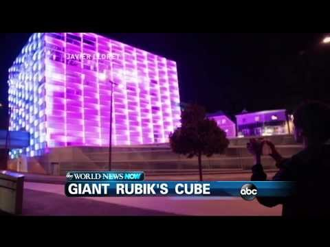 WEBCAST: Electronics Research Turns Into Giant Rubik's Cube