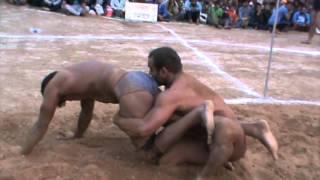d6 parwinder bahadurgarh in red vs major leela akhada  bahdala una dangal  by rajesh pahelwan