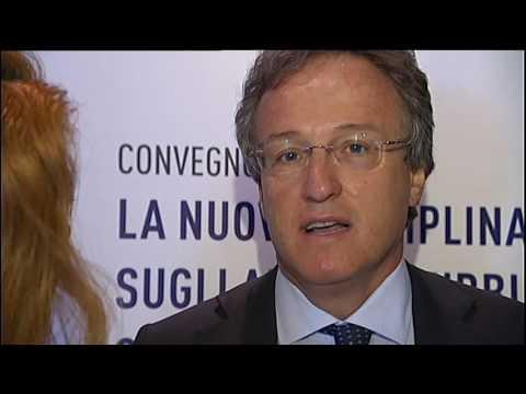 Intervista Convegno ANCE Salvatore Matarrese