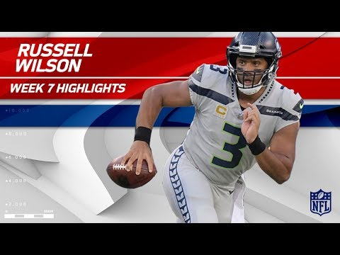 Video: Russell Wilson's Amazing Performance w/ 334 Yards & 3 TDs! | Seahawks vs. Giants | Wk 7 Player HLs