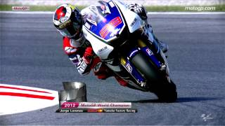Jorge Lorenzo 2012 MotoGP™ World Champion
