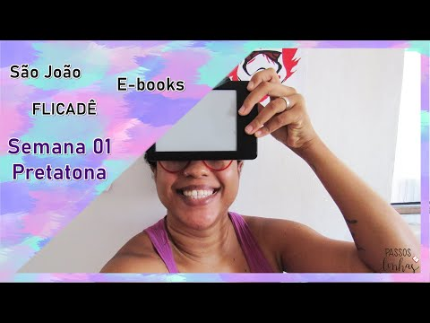 Vlog Pretatona Semana 01: Resenhas de livros, comida e dengo | Passos entre Linhas