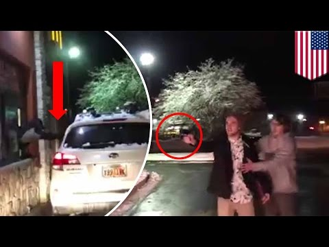 McDonald's customer pulls a gun and threatens staff at drive-thru.