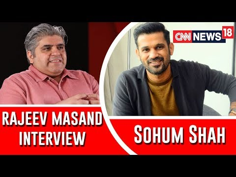 Sohum Shah interview with Rajeev Masand