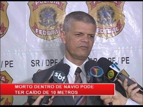 Tripulante de návio atracado no porto de Suape é encontrado morto