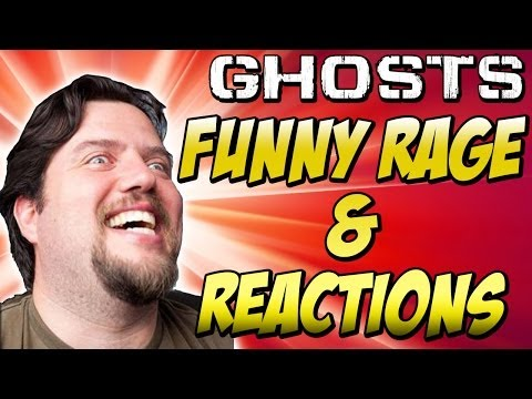 """COD Ghosts: """"ANGRY KIDS"""" (Funny Rage & Reactions in Call of Duty Ghosts)"""