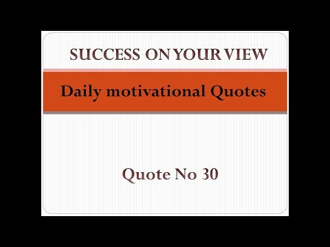 Success quotes - Daily motivational Quotes  Quote no 30  Success on your View Motivational channel Success videos