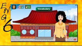 สื่อการเรียนการสอน At the Restaurant (การสั่งอาหาร) ป.6 ภาษาอังกฤษ