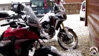 Un viaggio in moto, una Honda Africa Twin e una Honda CB 500, alla scoperta delle più belle strade di Albania, Montenegro e...
