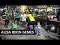 Lucu Puooll  Alisa Bikin Gemes Penonton  Angklung Rajawali Malioboro