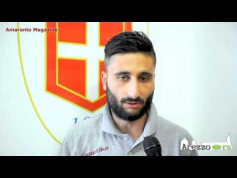 Como-Arezzo 1-1 / Intervista a Dettori