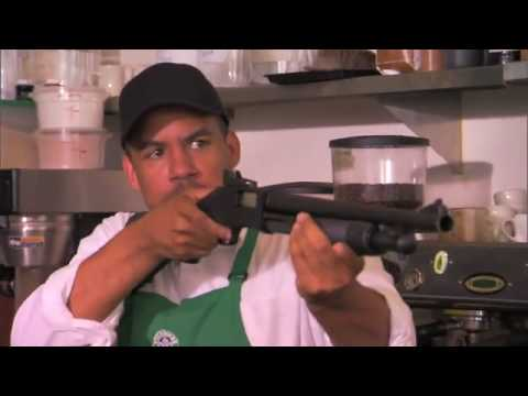 Zbraně v kavárně