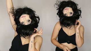 UPSIDE DOWN REVERSE FACE MAKEUP TUTORIAL