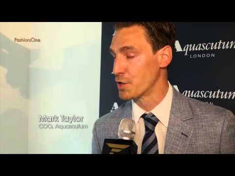 AQUASCUTUM | Collection Presentation Spring Summer 2016 | Fashion One видео