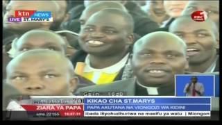 Pope Francis' Full Speech At St. Mary School In Nairobi