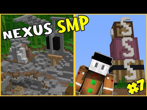 How to build an AWESOME QUARRY | Nexus SMP | Episode 8 | Minecraft 1.16.3