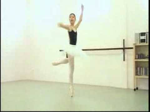 Rika Yamamoto 2009 in Fairy Doll フェアリードール クラシック バレエ 練習