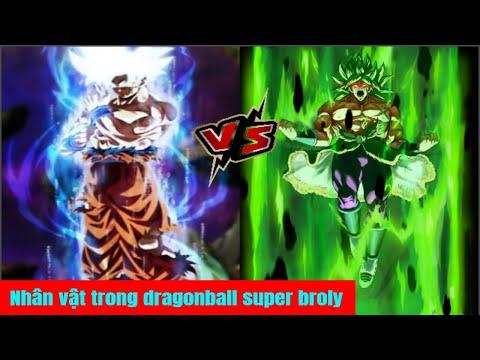Nhân vật sẽ góp mặt trong Dragon Ball Super Movie : Broly - Thời lượng: 8 phút, 40 giây.