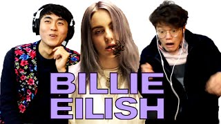 Koreans React to Billie Eilish(Ocean Eyes, Bellyache, when the party's over)