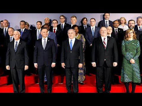 Polen: Nahost-Konferenz beginnt - gemeinsam gegen den ...