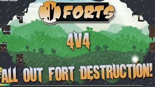So many 4v4's you'll have them coming out your ears! Time for Forts 4v4!Want more awesome content? Check out below!Subscribe for more - https://tinyurl.com/jaz5rfpSmash GaminG!! Discord - https://discord.gg/zwEVdFESupport The Channel On Patreon - https://www.patreon.com/smashgaming999Smash Look! Playlist! - http://tinyurl.com/c3ujr4cForts Playlist - https://tinyurl.com/lrqxx9sCarrier Deck Playlist - https://tinyurl.com/ybnmxa6nForts Campaign Playlist - https://tinyurl.com/lzefv4oCities Skylines: Mass Transit Playlist - https://tinyurl.com/l4wubtwBirthdays The Beginning Playlist - https://tinyurl.com/kxavk2cAirships: Conquer The Skies Playlist - https://tinyurl.com/h6t3so4Airships: Conquer The Skies Cataclystic Expansion Mod Playlist - https://tinyurl.com/muc8odzSimAirport Season 2 Playlist - https://tinyurl.com/kgddfukDawn of War 3 Playlist - https://tinyurl.com/n48ghgbArk: Survival Evolved Season 2 Playlist - http://tinyurl.com/hn9pr6zComment, like & subscribe, give feed back, have fun and check out below for more great content!Follow on Twitter, Facebook, Twitch, Steam or grab some merch!Merch - http://smashgaming999.spreadshirt.co.ukSteam - http://steamcommunity.com/groups/SmashGmainGTwitter - https://twitter.com/Frazzz101Facebook - http://www.facebook.com/SmashGaming999Twitch - http://www.twitch.tv/frazzz1