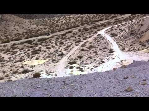 Cerro 7 Colores en Uspallata, Mendoza: Mirá un excepcional vídeo de esta belleza Argentina