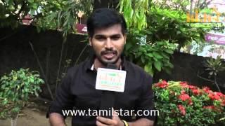 Rakshan at Vethu Vettu Movie Team Interview